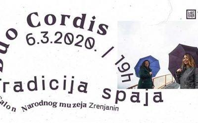 """Концерт """"Традиција спаја"""" састава """"Дуо Цордис"""""""