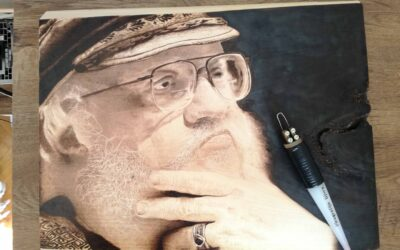 "Izložba ""Ivan Đurić: radovi pirografije"""